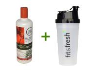 Mill Creek, Tea Tree Shampoo, 16 fl oz (473 ml), (3 PACK), Vitaminder, Power Shaker Bottle, 20 oz Bottle