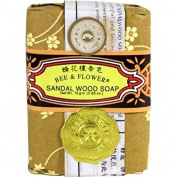 Bee & Flower Soaps Bar Soap - Jasmine, 6 Units / 80ml