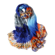 Lisingtool Women Long Soft Wrap scarf Ladies Shawl Voile Scarf Scarves