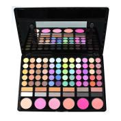 KRABICE Eyeshadow Palette,Bold and Bright Collection, Vivid,Eyeshadow Eye Shadow Palette Makeup Kit Set(78 Eyeshadow Palette) - Pattern 1