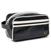 Fred Perry Classic Travel Kit Bag - Black