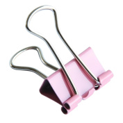 Sandistore 60x Colourful Metal Paper File Ticket Binder Clips 15mm Office School Supply Clip