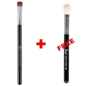 Bundle - Petal Beauty Shading makeup Brush + FREE $9 Value Eye Blending Brush