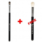 Bundle - Petal Beauty Concealer Tapered Flat makeup Brush + FREE $9 Value Eye Blending Brush