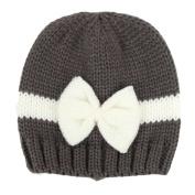 TorDen Baby Knitting Hat Girl Boy Toddler Knitting Wool Crochet Hat, Grey