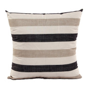DATEWORK Stripe Sofa Bed Pillow Case Cushion Cover Home Decor