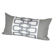 Oilo 30cm X 60cm Link Pillow, Stone