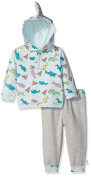 Rosie Pope Little Boys' 2 Piece Pizza and Shark Set