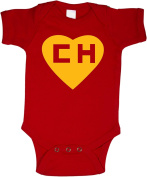 Chapulin Colorado Chespirito Spanish Funny Baby Onepiece Bodysuit Gift Red
