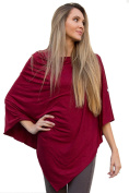 Nursing Poncho - Cranberry Multi Use Nursing Poncho - Car Seat Cover and Nursing Cover