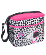 "Kidgets ""Panda Wave"" Bottle Bag - black/pink, one size"