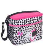 """Kidgets """"Panda Wave"""" Bottle Bag - black/pink, one size"""