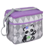 "Kidgets ""Playful Pup"" Bottle Bag - grey/purple, one size"
