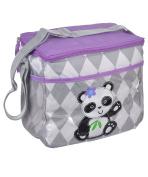 "Kidgets ""Playful Pup"" Bottle Bag - grey/purple, one size"