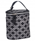 "Baby Essentials ""Duo On-the-Go"" Insulated Bottle Bag - black, one size"