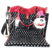 Betsey Johnson Roll Out Spot Changing Baby Nappy Bag