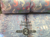 The Honest Company Size 2 Mermaids Print Nappies -- 38/PACK