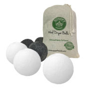 SoSoft Wool Dryer Balls 100% Premium So Soft Wool Dryer Balls XXL Hand Made in Nepal All Natural Eco Friendly All Natural Fabric Softener