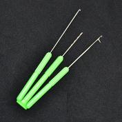 JSHANMEI 3pcs/Set Carp Fishing Baiting Rig Tool Set (Stringer Needle+Hook Needle+Drill Needle) For Lures Bait Making