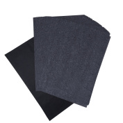 Blulu Carbon Transfer Paper Black Tracing Paper for Wood, Fabric, Canvas, 23cm x 33cm , 60 Sheets