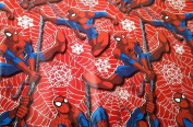 Spiderman Marvel Comic's Red Gift Wrapping Paper Roll