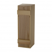 Wood Wine Box - For standard size wine bottles, Perfect for storage, gifts, display