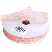 Glitter Web Mesh Ribbon, 1.6cm , 25 Yards