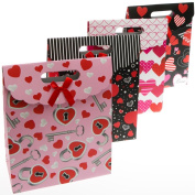 Medium Foldover Valentine's Day Gift Bags
