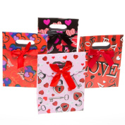 Small Foldover Valentine's Day Gift Bags