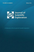 Journal of Scientific Exploration Winter 2016 30