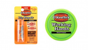 O'Keeffe's Working Hands Cream 90ml Tube and O'Keeffe's Original Lip Repair Stick