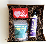 All Natural Sweetheart Beauty Gift Box with Lotion, Soap, and Bath Salts