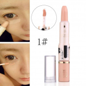 Concealer Pen Stick Cream Face Lip Eye Foundation Spot Blemish Natural Makeup Professional Dark Eye Hide Blemish Face 1#