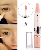 Concealer Pen Stick Cream Face Lip Eye Foundation Spot Blemish Natural Makeup Professional Dark Eye Hide Blemish Face 1#