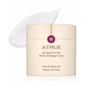 ATRUE Spring Green Tea Watery Calming Cream 80g (80ml) Black Tea Water 70%