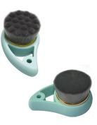 Alice Windowshop Facial Cleansing Brush Manual Cleansing Massage Brush 2 Packed