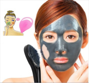 Korean Natural Plants Based JASEONGMIIN Magnet Pack Mask Removes Wastes And Sebum From Pores - 20 gm Bundle With Free Silicon Pore Brush 1 pcs