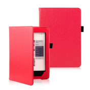 KOBO AURA H2O eReader Case Accessries,Sunfei Magnetic Auto Sleep Leather Cover