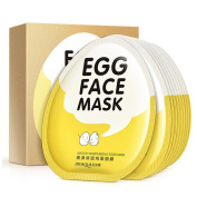 BIOAQUA Skin Care Moisturising Egg Face Mask Collagen Skin Whitening Wrapped Mask