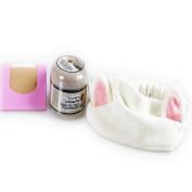 BUNDLE-Elizavecca Milky Piggy Carbonated Bubble Clay Mask + Etude House Beauty Tool Lovely Etti Hair Band (#1ea) + KBeautyBundle Premium Natural Hemp Paper Blotters