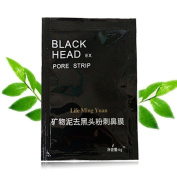 Blackhead Mask Remove, SANNYSIS Women 10pcs Mineral Mud Nose Pore Cleansing Cleaner Removal Nose Membranes Strips