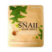 BARONESS, SNAIL mask sheet 5pcs, highly concentrated nourishing facial mask