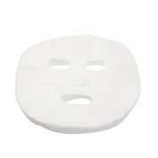 Hearts Shop 50 Pcs White Cosmetic Tool Enlarged Cotton Facial Mask for Ladies