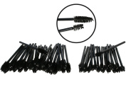 50 Pack Disposable Eyelash Mascara Brushes Wands Applicator Makeup Brush For Upper and Lower Lashes or Brows