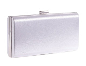 Women's PU Leather Banquet Dinner Clutch Harbox Prom Evening Chain Bag