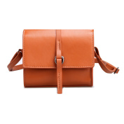 eshion Stylish Solid Flap Square PU Shoulder Bag with Convertible Strap