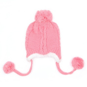 Tangc Winter Cute Baby Beanie Earflap Hat Cap Warm Kids Boys Girls Toddler Knitted