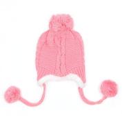 Tangc Winter Cute Baby Beanie Earflap Hat Cap Warm Kids Boys Girls Toddler Knitted