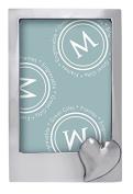 Mariposa Heart Vertical 5 x 7 Frame