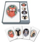 Notecard Set Woodland Creatures